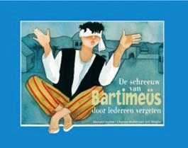 Voorzijde boek Bartimeus van uitgever Don Bosco, Brussel België