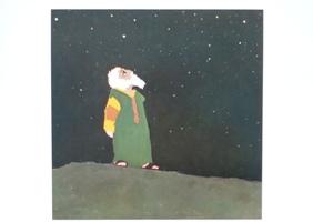 Abraham kijkt naar de sterren / Kees de Kort
