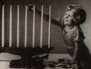 Kaarsen aansteken