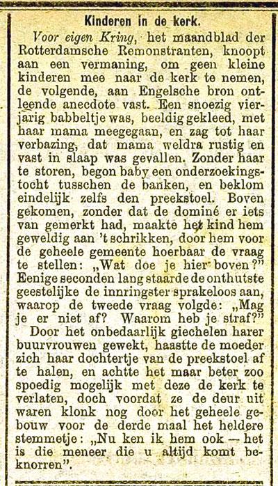 Gescand artikel uit Zierikzeese nieuwsbode 6 februari 1918, p.1