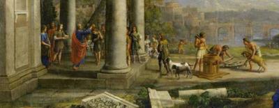 zalving-van-David-door-Samuel / Claude Lorrain, 1643