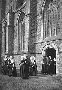 Kerkgang in Zeeland, Kapelle 1930