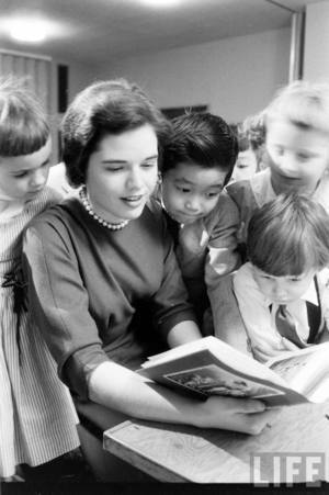Women In Religion, Frances Evan, Sunday School / Alfred Eisenstaedt