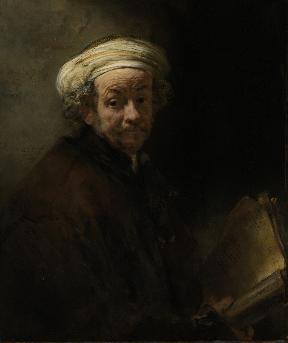 Zelfportret van Rembrandt als de apostel Paulus