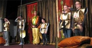 Het leger van koning Saul Uit musical David en Goliath van de Vliegende Speeldoos