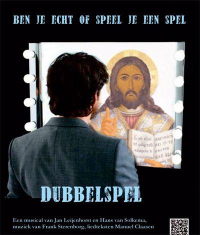 Poster musical Dubbelspel