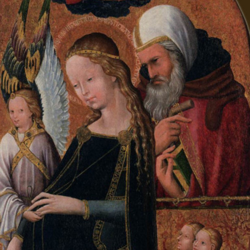 Zwangere Maria en Jozef