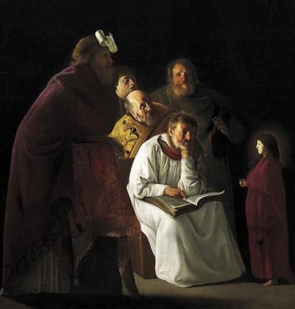 12-jarige Jezus in de tempel
