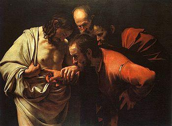 Ongelovige Thomas / Caravaggio