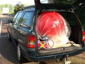 Ballon ophalen