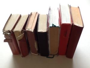 Aantal liedboeken op een rij