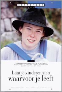 Laat je kinderen zien waarvoor je leeft: poster