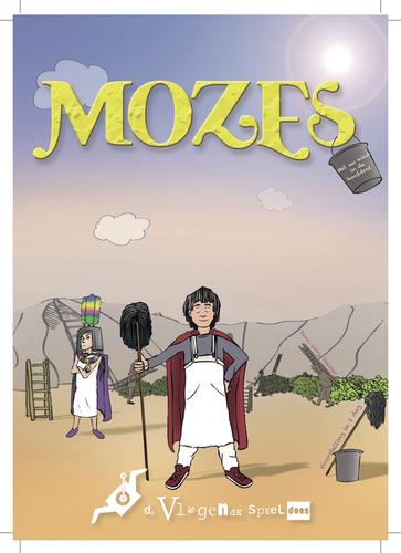 Poster musical Mozes  Vliegende Speeldoos