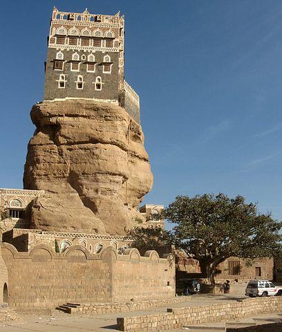 Dar_al-Hajar_huis-op-de-rots-Jemen