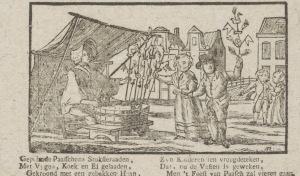 Kinderen met palmpasenstokken, 1715-1813